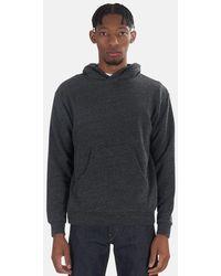 Velva Sheen Pullover Hoodie Sweater - Black