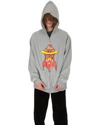 BBCICECREAM Zip Hoody Sweater - Grey