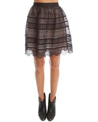 Zimmermann - Zimermann Lavish Embroidered Bell Mini Skirt - Lyst