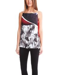 Clover Canyon - Forbidden Forest Draped Camisole - Lyst