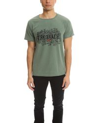 Remi Relief Sp Finish-tee Top - Green