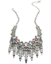 DANNIJO Desi Necklace - Metallic