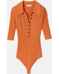 A.L.C. Dia Bodysuit - Orange