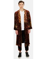 Pierre Louis Mascia Pierre-louis Mascia Kanada Kimono Outerwear - Metallic