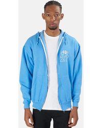 Blue & Cream - Bicycle 27 Hoodie Sweater - Lyst