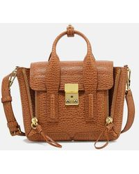 3.1 Phillip Lim Pashli Mini Satchel Bag - Brown