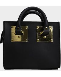 Sophie Hulme Box Albion Saddle Bag - Black