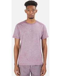 Stone Island Dust Treatment T-shirt - Purple