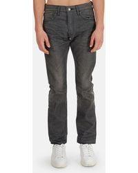 Fabric-Brand & Co. & Co Slim Fit Denim Pants - Gray