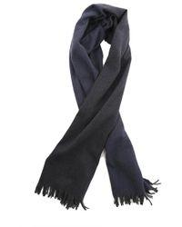 Yigal Azrouël Open Weave Wool Scarf - Blue