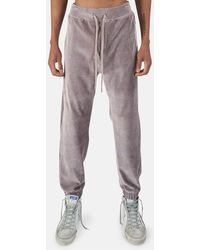 WHEELERS.V Bowery Velour Cord Trousers - Multicolour
