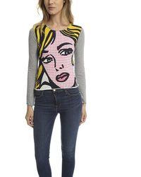 Lucien Pellat Finet Ed Long Sleeve T-shirt - Multicolour