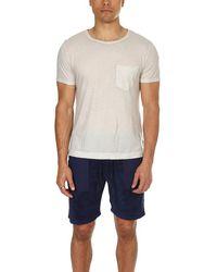 Massimo Alba Panarea T-shirt - Natural