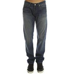 3x1 M4 Franklin Selvedge Straight Jeans - Blue