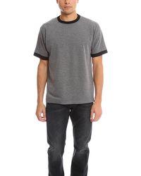 Public School Double Sleeve T-shirt - Grey