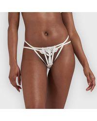 Bluebella String Nova Ivoire - Blanc