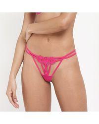 Bluebella Nova String in Heißem Pink