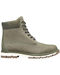 f9318b607ba0 Timberland 6 Inch Premium Camo Boots Grape Leaf in Green for Men - Lyst