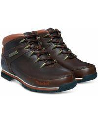 Timberland - Euro Sprint Hiker Boots 6831r Dark Brown - Lyst