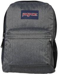 Jansport - Hyperbreak Black White Herringbone Backpack - Lyst