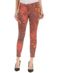 Kut From The Kloth - Connie Botanical Brick Ankle Skinny Leg - Lyst