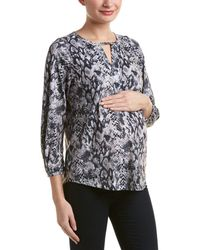 Everly Grey - Maternity Lila Top - Lyst