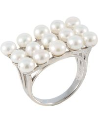 Splendid - Fancy Small Pearl Ring - Lyst