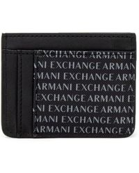 Armani Exchange - Men's Black Polyester Wallet - Lyst
