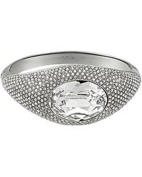 Swarovski - Crystal Episode Plated Bangle Bracelet - Lyst