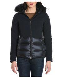 Rrd - Women's Black Polyamide Coat - Lyst