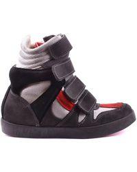 Ishikawa - Women's Multicolor Suede Hi Top Sneakers - Lyst