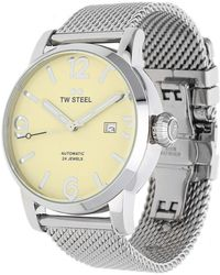 TW Steel - Watch Maverick Automatik Silver Mb5 - Lyst