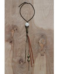 Love Leather - Earth Child Necklace - Lyst