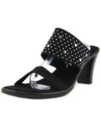 Onex - Meri Embellished Slide Sandals - Lyst
