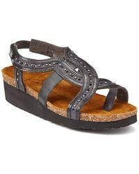 Naot - Hillary Leather Sandal - Lyst