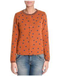 Jucca - Women's Orange Wool Sweater - Lyst