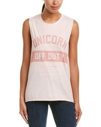 The Laundry Room - Graphic Muscle Tank - Lyst