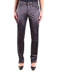 John Galliano - Women's Grey Viscose Pants - Lyst