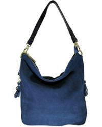 Tiffany & Fred - Suede Leather Hobo/messenger Bag - Lyst