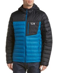 Mountain Hardwear - Dynotherm Hooded Down Jacket - Lyst