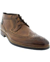 Hart Schaffner Marx - Athens Leather Boot - Lyst