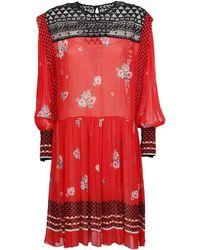 Philosophy - Women's 04432146a1130 Red Viscose Dress - Lyst