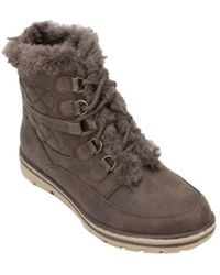White Mountain Footwear - Women's Kassia Quilted Hiker Boot - Lyst