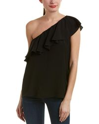French Connection - Summer Crepe One-shoulder Top - Lyst