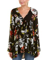 Free People - Bella Printed Tunic (red) Women's Blouse - Lyst