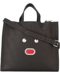 1e68fbd8807d Lyst - Fendi Peekaboo Tote Bag in Black for Men