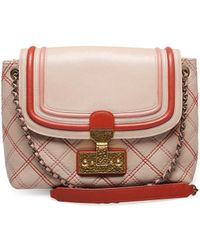 Marc Jacobs | Women's ¿the Large Single¿ Shoulder Cross Body Handbag Pink | Lyst