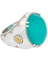 Tacori - City Lights 18k & Silver 13.30 Ct. Gemstone Doublet Ring - Lyst