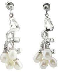 Pangea Mines - Freshwater Pearl Earrings - Lyst