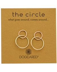 Dogeared - Circle Collection Earrings - Lyst